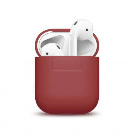 Чехол Elago Silicone Case for Airpods Red (EAPSC-RED)