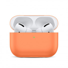 Silicone Slim Case для AirPods Pro Begonia Red