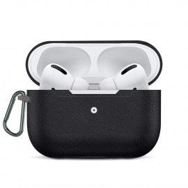Leather Imitation Case для AirPods Pro Black