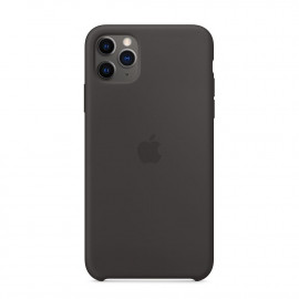 11 Pro Max Silicon Case Black (MX002)