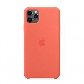 11 Pro Max Silicon Case Orange (MX022)