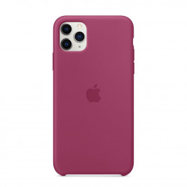 Apple iPhone 11 Pro Max Silicon Case Pomegranate