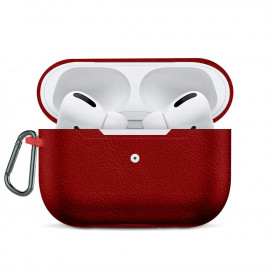 Leather Imitation Case для AirPods Pro Red