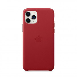 11 Pro Leather Case Red (MWYF2)