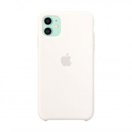 iPhone 11 Silicon Case Soft White (MWVU2)