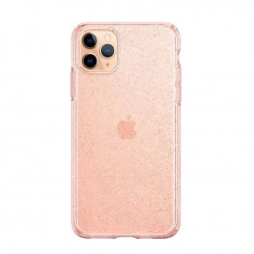 SGP LIQUID CRYSTAL GLITTER для iPhone 11 Pro Max Rose Quartz