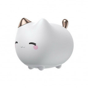 Ночник Baseus Cute Kitty Silicone White (DGAM-A02)