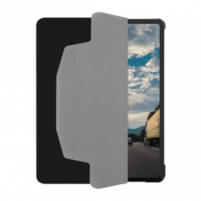 Чехол Macally Protective Case and Stand для iPad Pro 12,9 (2021/2020) Black (BSTANDPRO5L-B)