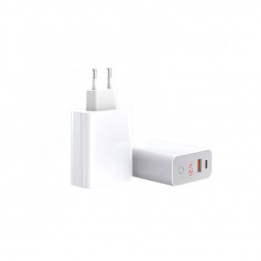 Адаптер питания Baseus Speed PPS Quick Charger Smart ShutDown White
