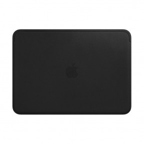 Apple MacBook 12 Leather Sleeve Black (MTEG2)