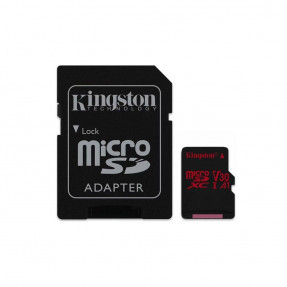 Kingston Canvas React Class 10 UHS-I U3 64GB