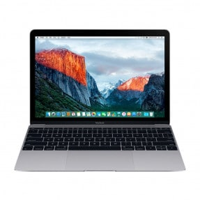 MacBook 12 Space Gray MLH72 2016