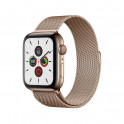 Apple Watch S5 44 mm Gold Stainless Steel Case with Milanese Loop