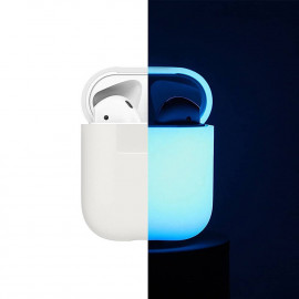 Чехол Elago Silicone Case for Airpods Nightglow Blue (EAPSC-LUBL)