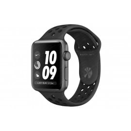 Apple Watch Nike+ S3 42 mm Space Gray Aluminum Case Nike Sport Band Anthracite/Black MQL42