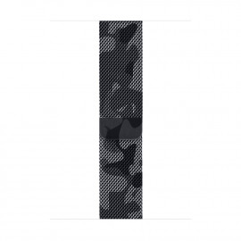Milanese Loop Magnetic Closure для Apple Watch 42/44 мм Army Gray (копия)