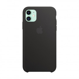 Чехол Apple Copy iPhone 11 силикон Black