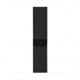 Milanese Loop Magnetic Closure для Apple Watch 42/44 мм Black (копия)