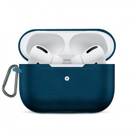 Leather Imitation Case для AirPods Pro Blue
