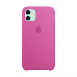 Чехол Apple Copy iPhone 11 силикон Bright Pink