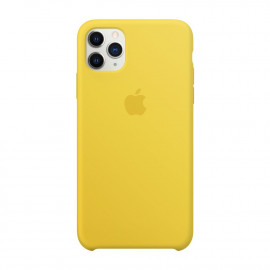Чехол Apple Copy iPhone 11 Pro Max силикон Canary Yellow