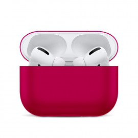Silicone Ultra Thin Case для AirPods Pro Crimson