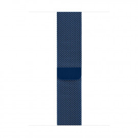 Milanese Loop Magnetic Closure для Apple Watch 42/44 мм Dark Blue (копия)