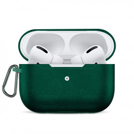 Leather Imitation Case для AirPods Pro Dark Green