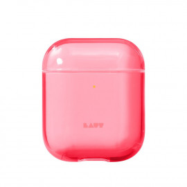 Чехол LAUT Crystal-X для AirPods Electric Coral