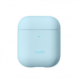 Чехол LAUT Huex Pastels для AirPods Light Blue