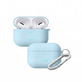 Чехол LAUT Huex Pastels для AirPods Pro Light Blue