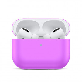 Silicone Slim Case для AirPods Pro Light Purple