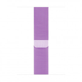 Milanese Loop Magnetic Closure для Apple Watch 42/44 мм Light Purple (копия)