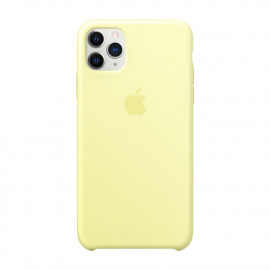 11 Pro Max силикон Mellow Yellow