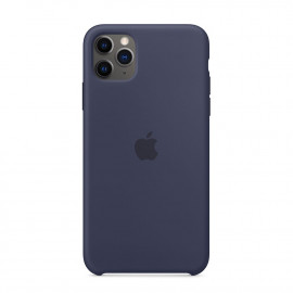 11 Pro Max Silicon Case Midnight Blue (MWYW2)