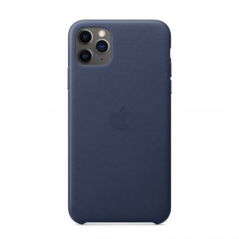 11 Pro Max Leather Case Midnight Blue (MX0G2)