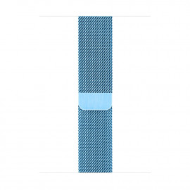Milanese Loop Magnetic Closure для Apple Watch 38/40 мм Sky Blue (копия)
