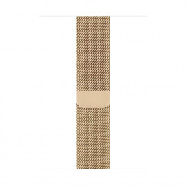 Milanese Loop Magnetic Closure для Apple Watch 42/44 мм Vintage Gold (копия)