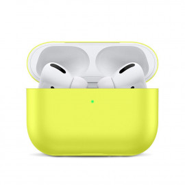 Silicone Slim Case для AirPods Pro Yellow
