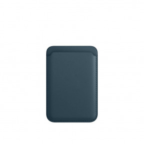 Чехол-кошелек для iPhone Leather Wallet with MagSafe Baltic Blue (MHLQ3)