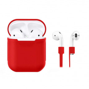 airpods-silicone-case-straps-red