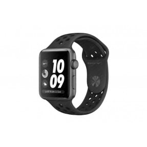 Apple Watch Nike+ S3 38 mm Space Gray Aluminum Case Nike Sport Band Anthracite/Black MQKY2