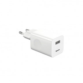 Baseus Charging Quick Charger 24W White