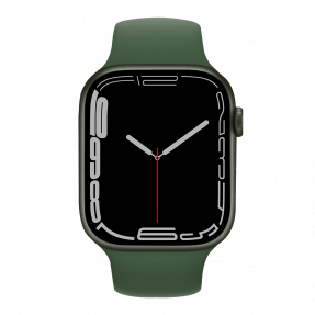 Apple Watch S7 45 mm Green Aluminum Case with Sport Band