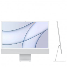 "iMac 24"" Retina 4,5K/M1/8GB/256GB SSD/with Touch ID/Silver 2021"