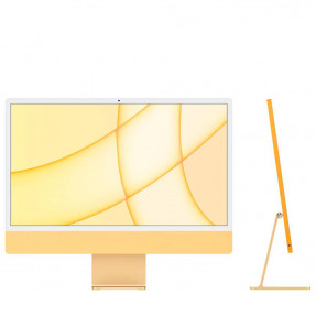"iMac 24"" Retina 4,5K/M1/8GB/256GB SSD/with Touch ID/Yellow 2021"