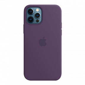 Чехол Apple High Copy Silicone with MagSafe для iPhone 12 Pro Max Amethyst