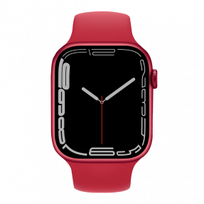 Apple Watch S7 45 mm (PRODUCT) RED Aluminum Case with Sport Band