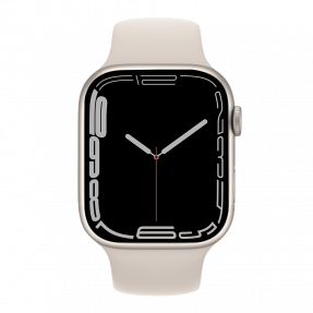 Apple Watch S7 45 mm Starlight Aluminum Case with Sport Band