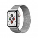 Apple Watch S5 44 mm Silver Stainless Steel Case with Milanese Loop